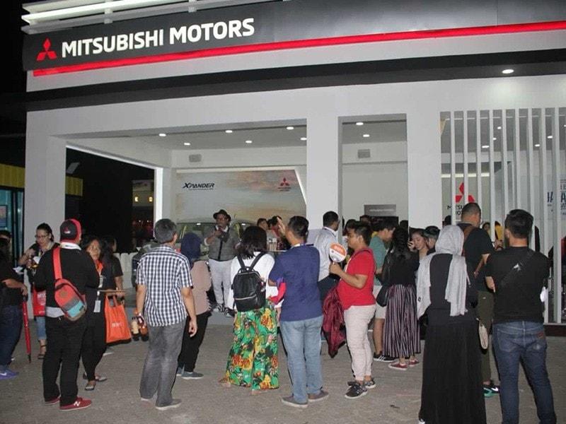 Ini Keseruan Mitsubishi Motors di Event Java Jazz 2018
