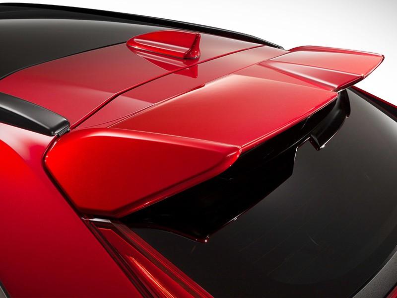 Tailgate Spoiler-Red