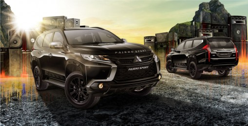 Pajero Sport RF Black Edition